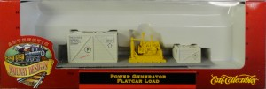 Power Generator Flatcar Load in box 2